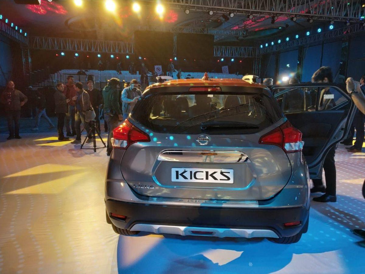 Nissan Kicks India Launch Rear(3)