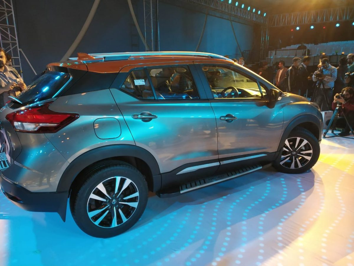 Nissan Kicks India Launch side profile(2)