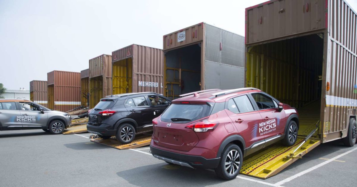 Nissan Kicks delivery