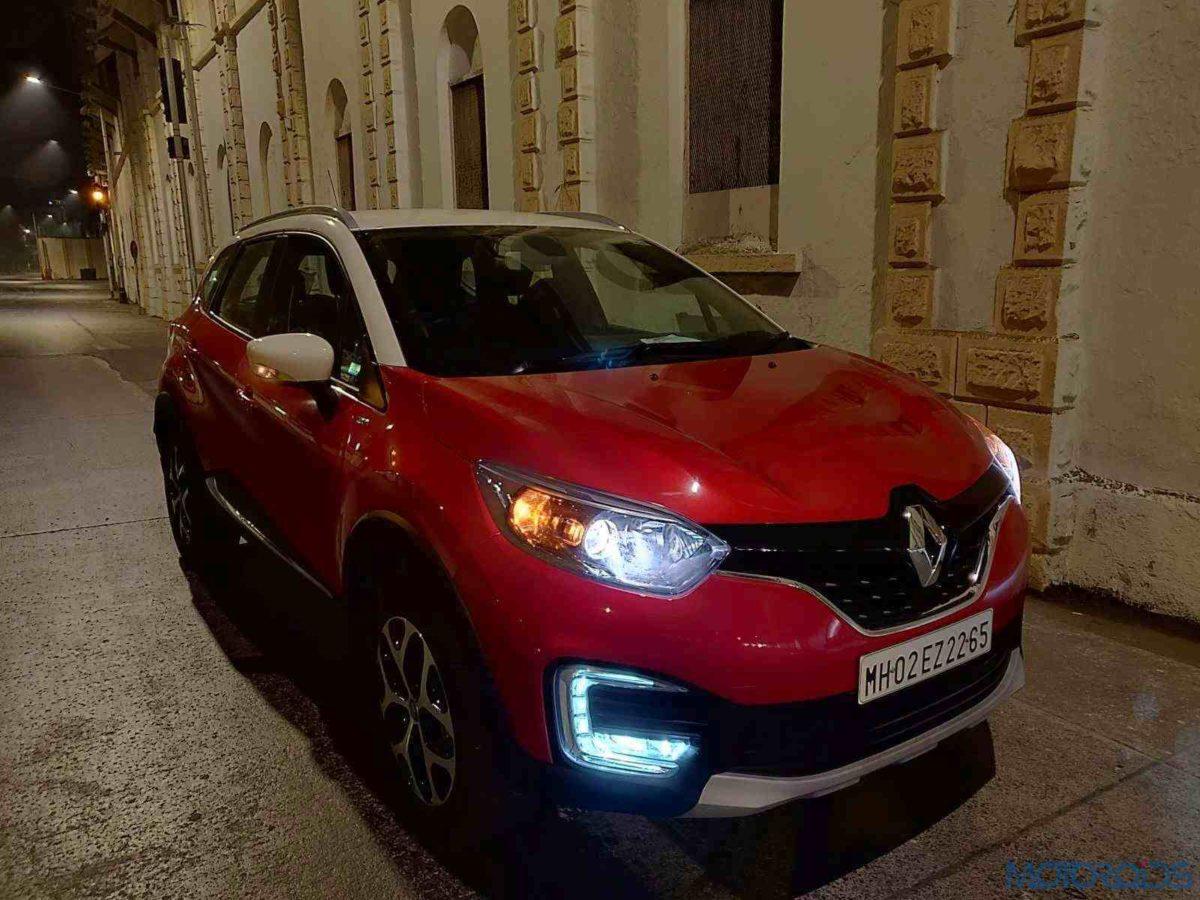 Renault Captur Petrol Fascia