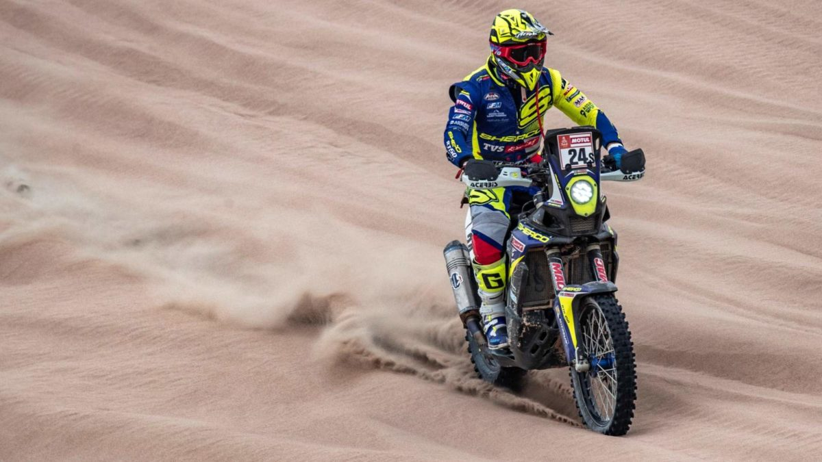 Sherco TVS Rally Factory Dakar 2019 Stage 8 (2)