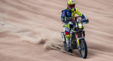 Dakar 2019, Stage 8: Michael Metge Crosses The Line In 10th For Sherco TVS Rally Factory