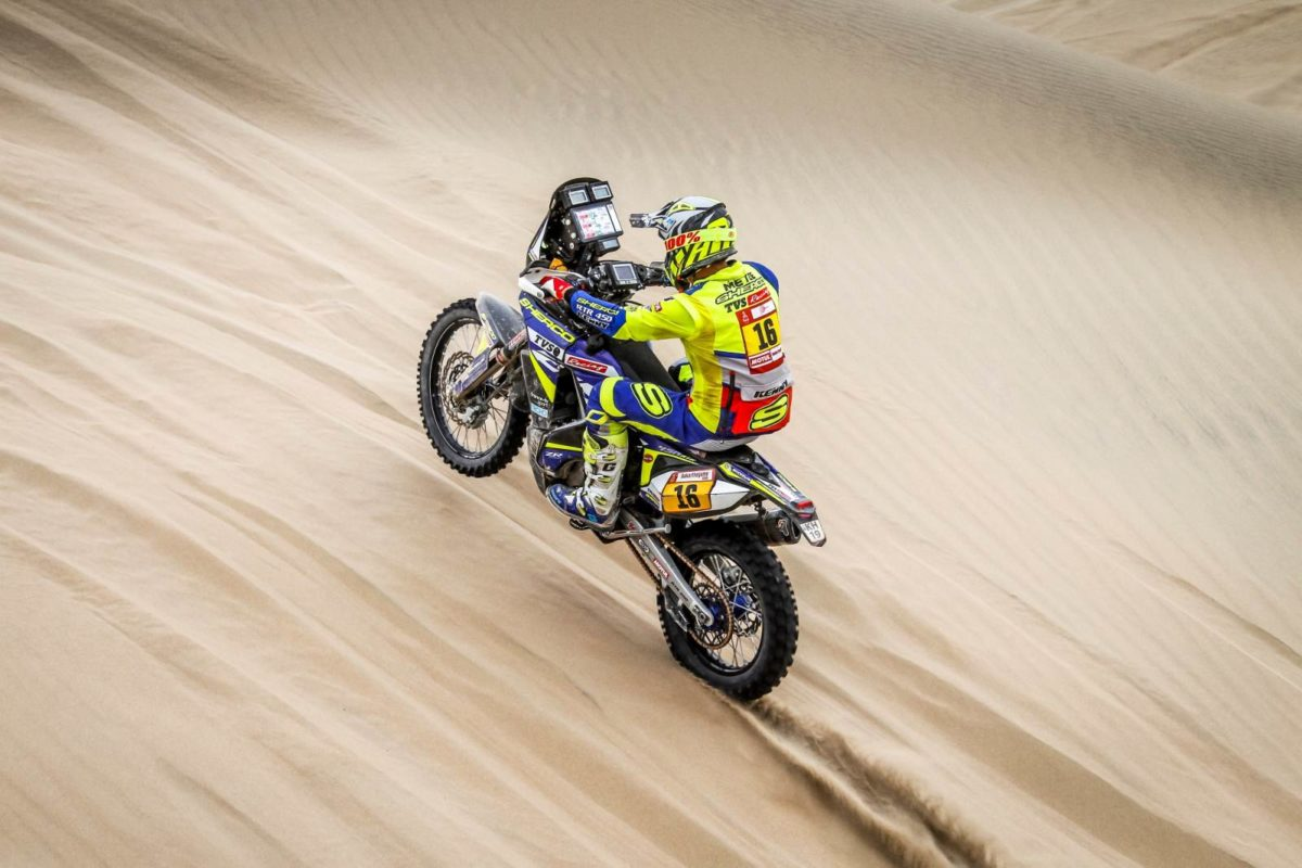 Sherco TVS Rally Factory Dakar 2019 Stage 9 Aravind(4)