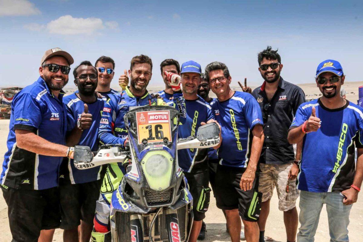 Sherco TVS Rally Factory Dakar 2019 Stage 9 Win (1)
