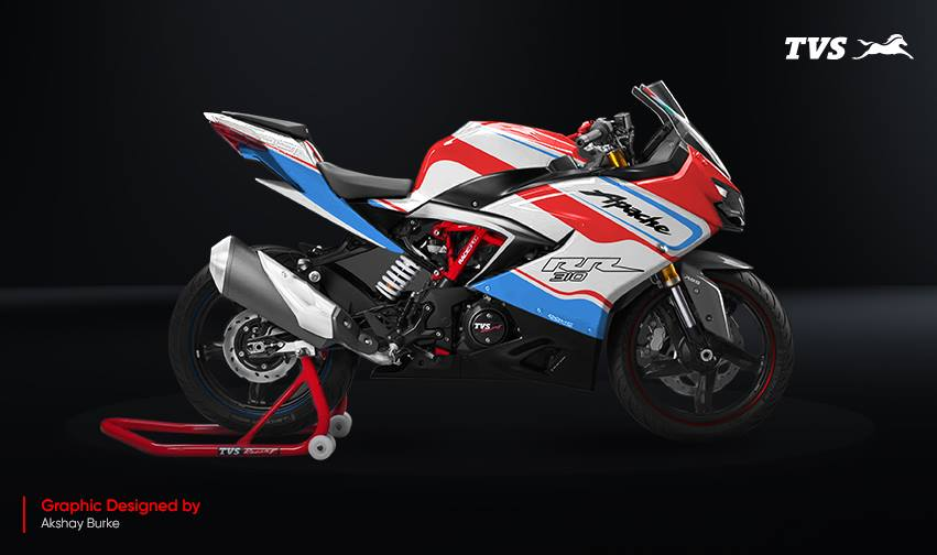 TVS Apache RR 310 Design contest Akshay