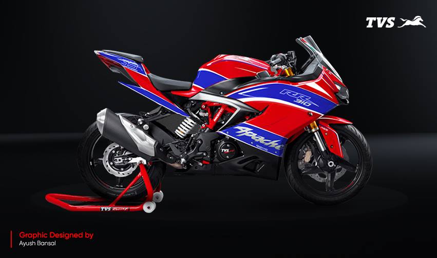 TVS Apache RR 310 Design contest Ayush