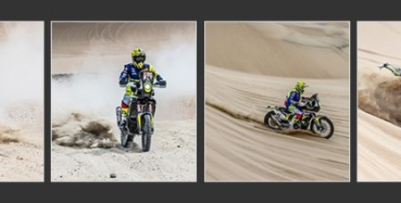 TVS Dakar Rally stage 2
