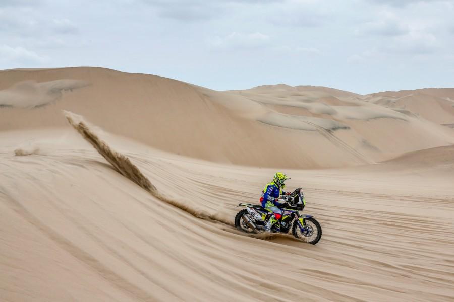 TVS Dakar Rally stage 2 Aravind