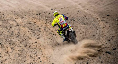 Dakar 2019, Stage 7: Michael Metge Dials In Some Strong Pace For Team Sherco TVS Rally Factory