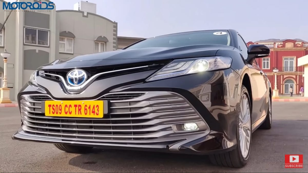 Toyota Camry Hybrid Review Front bumper
