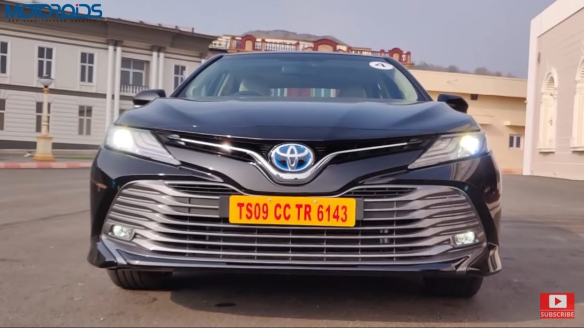 Toyota Camry Hybrid Review front low