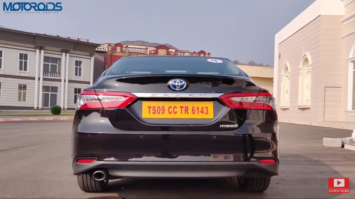 Toyota Camry Hybrid Review rear