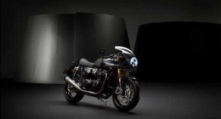 Triumph Thruxton TFC Unveiled featured