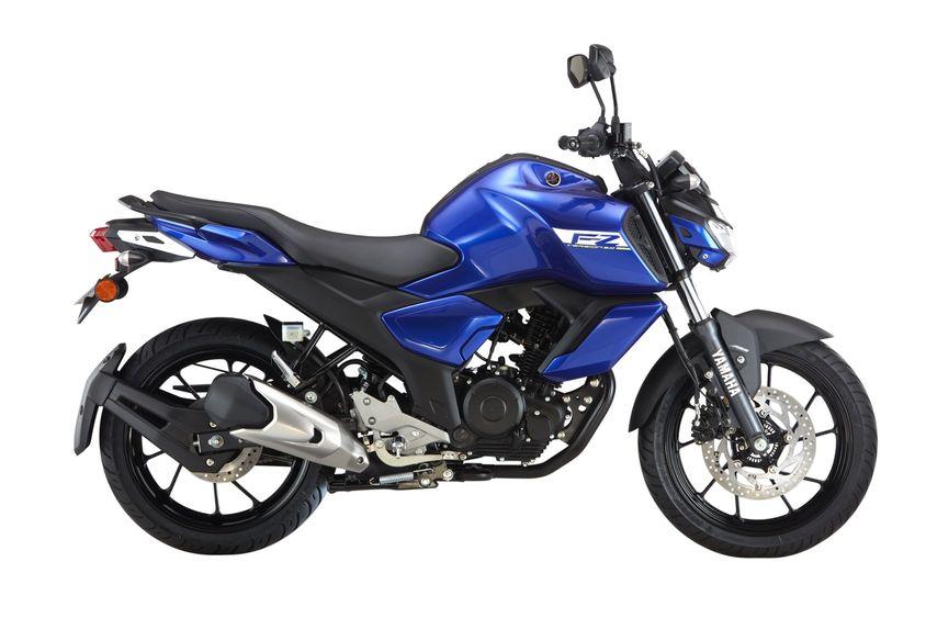 Yamaha FZ FI ABS blue