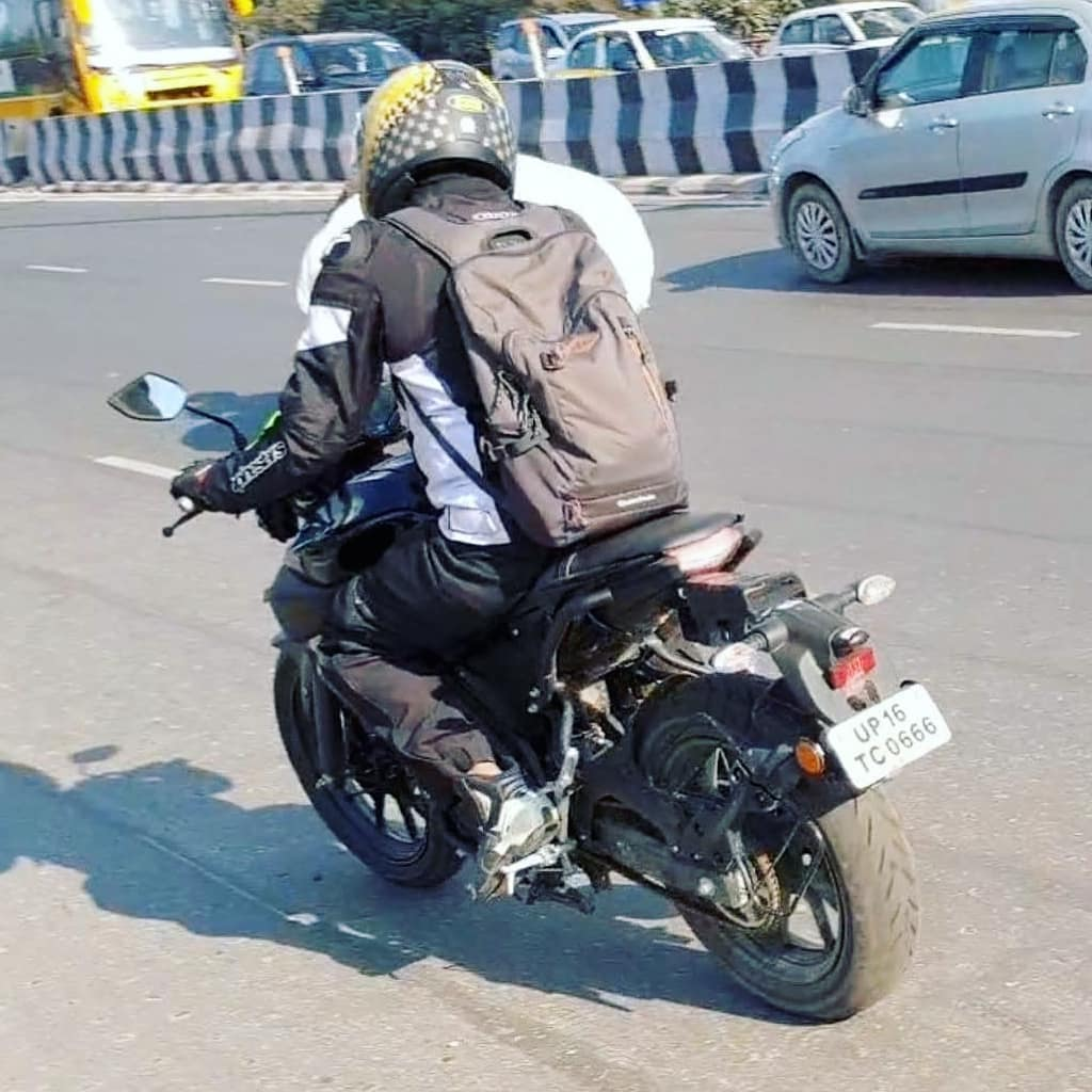 Yamaha MT 15 Spied rear quarter