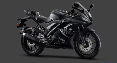 Yamaha YZF-R15 V3 Gets Dual Channel ABS And A New Darknight Colour Option