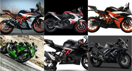 Best Sports Bikes In India Under INR 3 Lakh