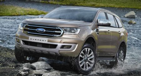 2019 Ford Endeavour 1600x900