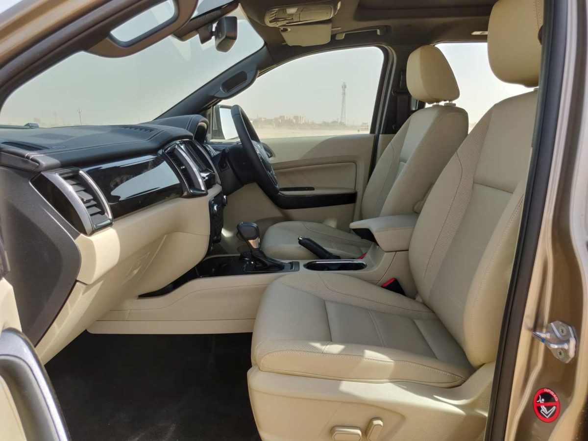 2019 Ford Endeavour powered seats