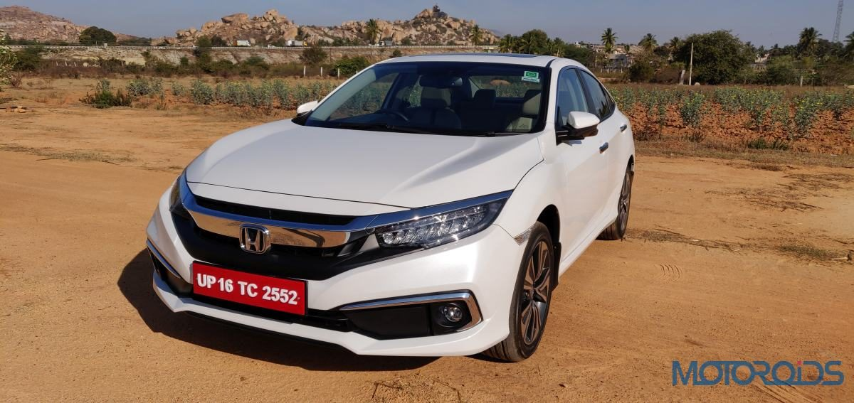 2019 Honda Civic Fron View