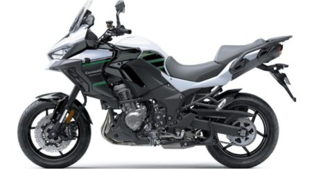 2019 Kawasaki Versys 1000 white side