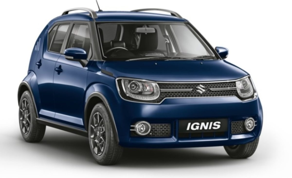 2019 Maruti Suzuki Ignis front quarter