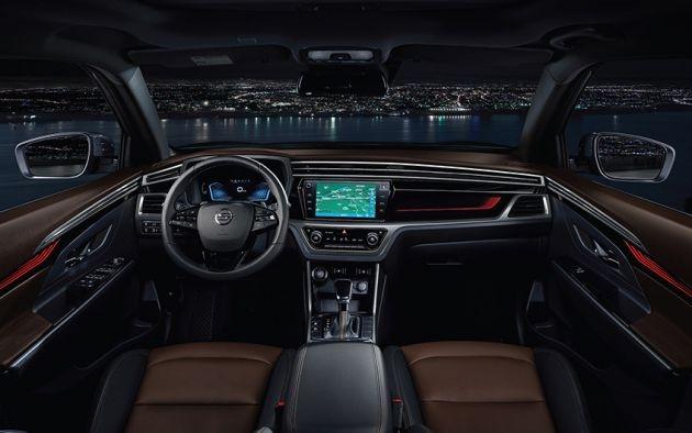 2019 Ssangyong Korando cockpit