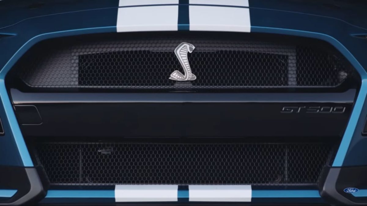 2020 Ford Mustang Shelby GT500 front grille