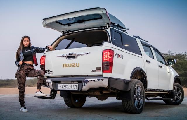 Azad 4×4 steel canopies for Isuzu pickup trucks (1)