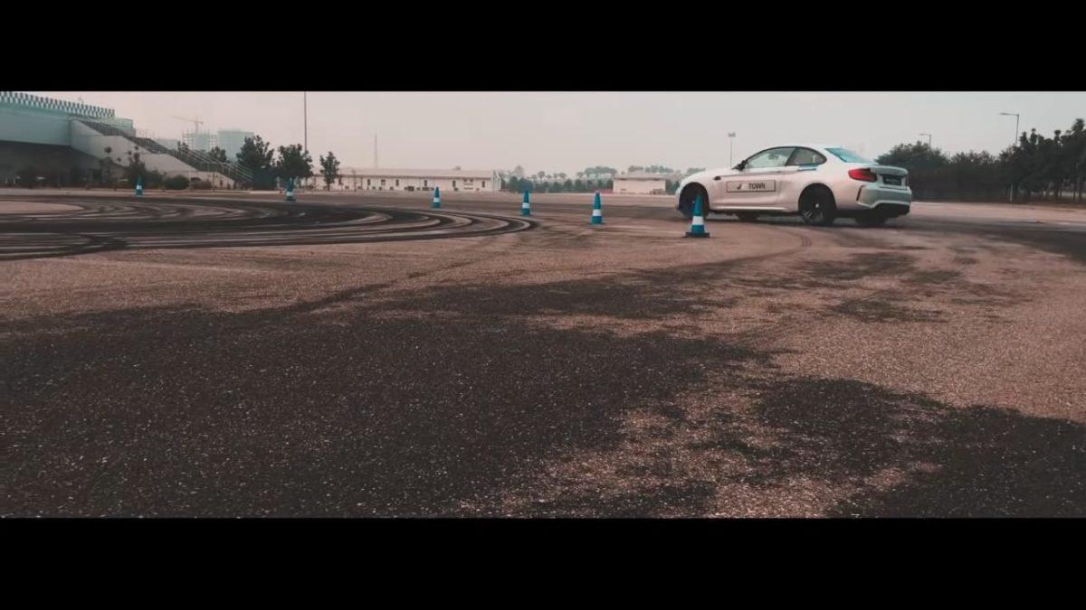 BMW Track day slide