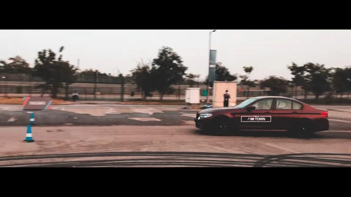 BMW track day M5