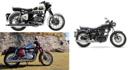 Paper Fight – Benelli Imperiale 400 vs Royal Enfield Classic 350 vs Jawa