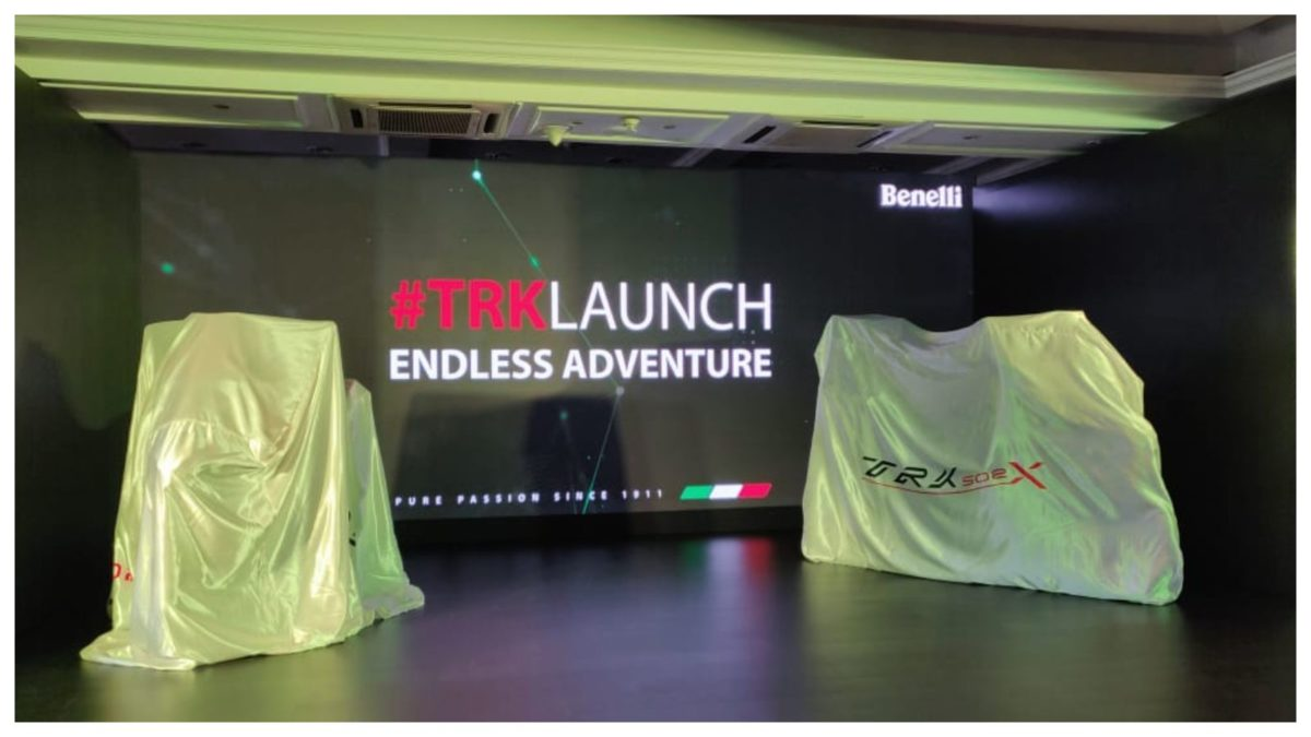 Benelli TRK 502 & 502X launch