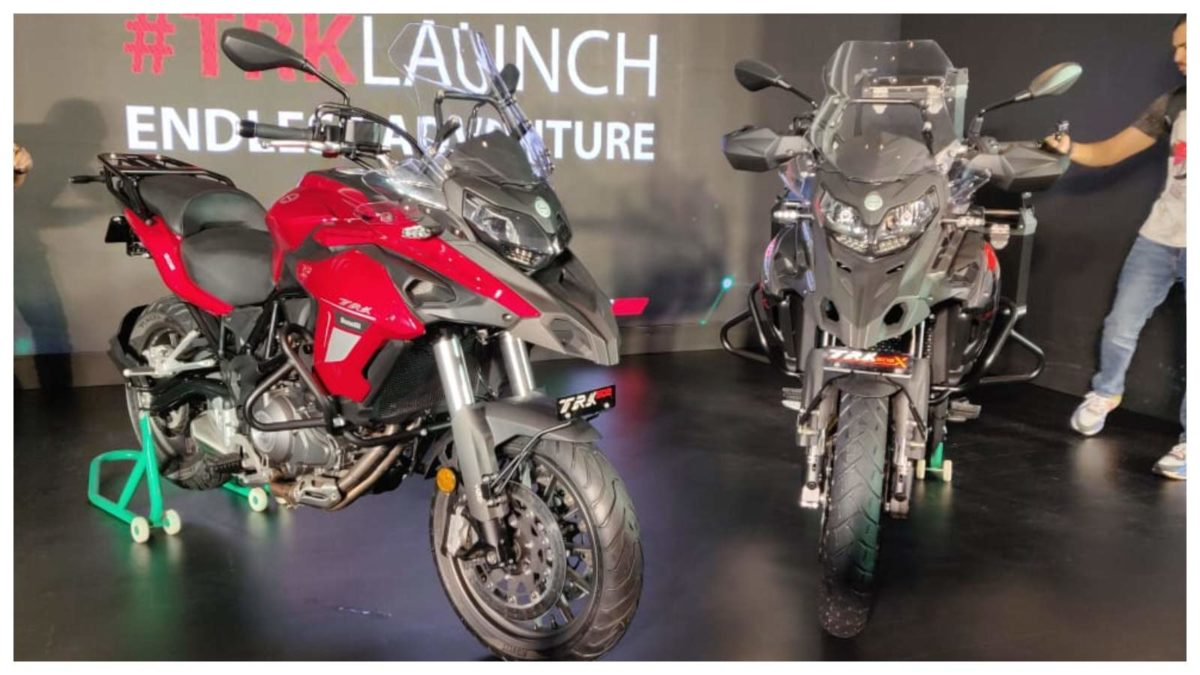 Benelli TRK 502 & 502X launch uncovered