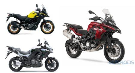 Benelli TRK 502X vs Versys 650 vs Suzuki V-Strom
