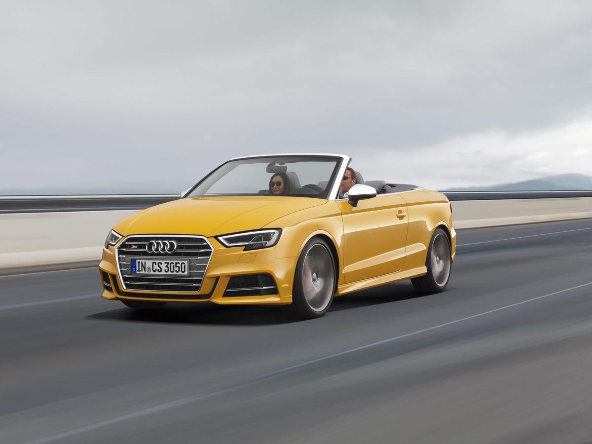 Convertible Audi A3 cabriolet