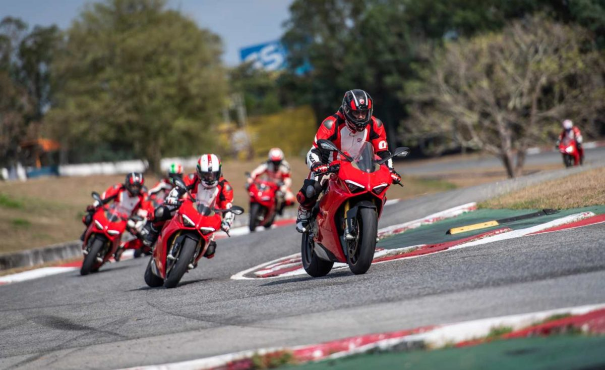 Ducati DRE trainer training
