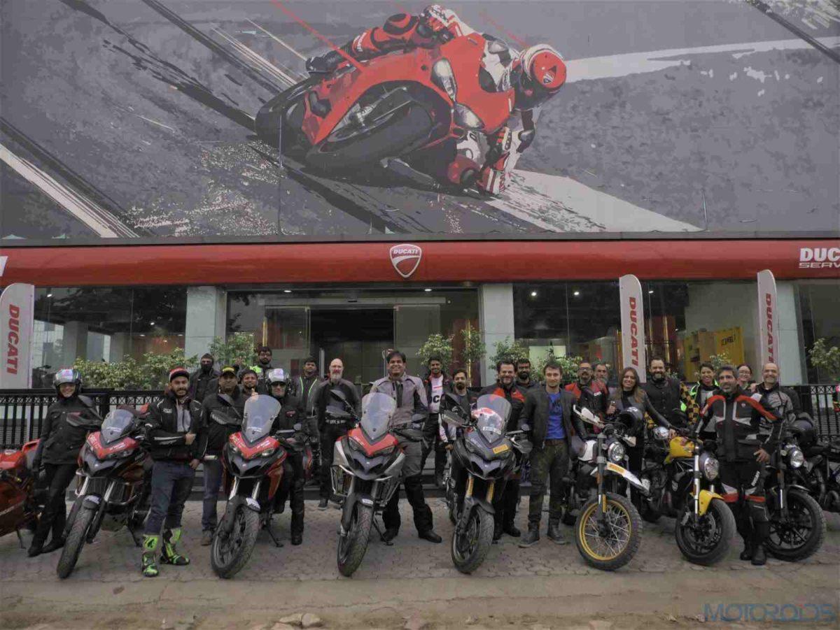 Ducati Dream Tour Of Rajasthan 2019 Riders (2)