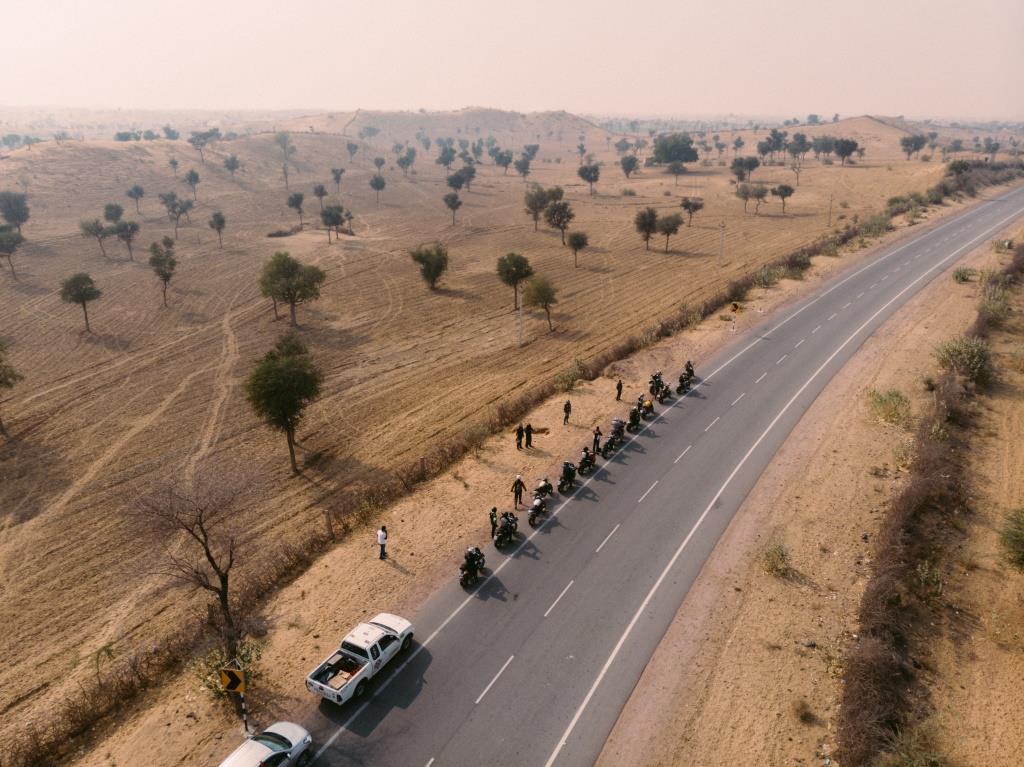 Ducati Dream tour Rajasthan Drone