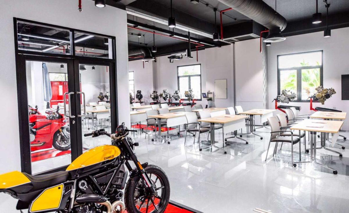 Ducati sets up training facility in Thailand desks
