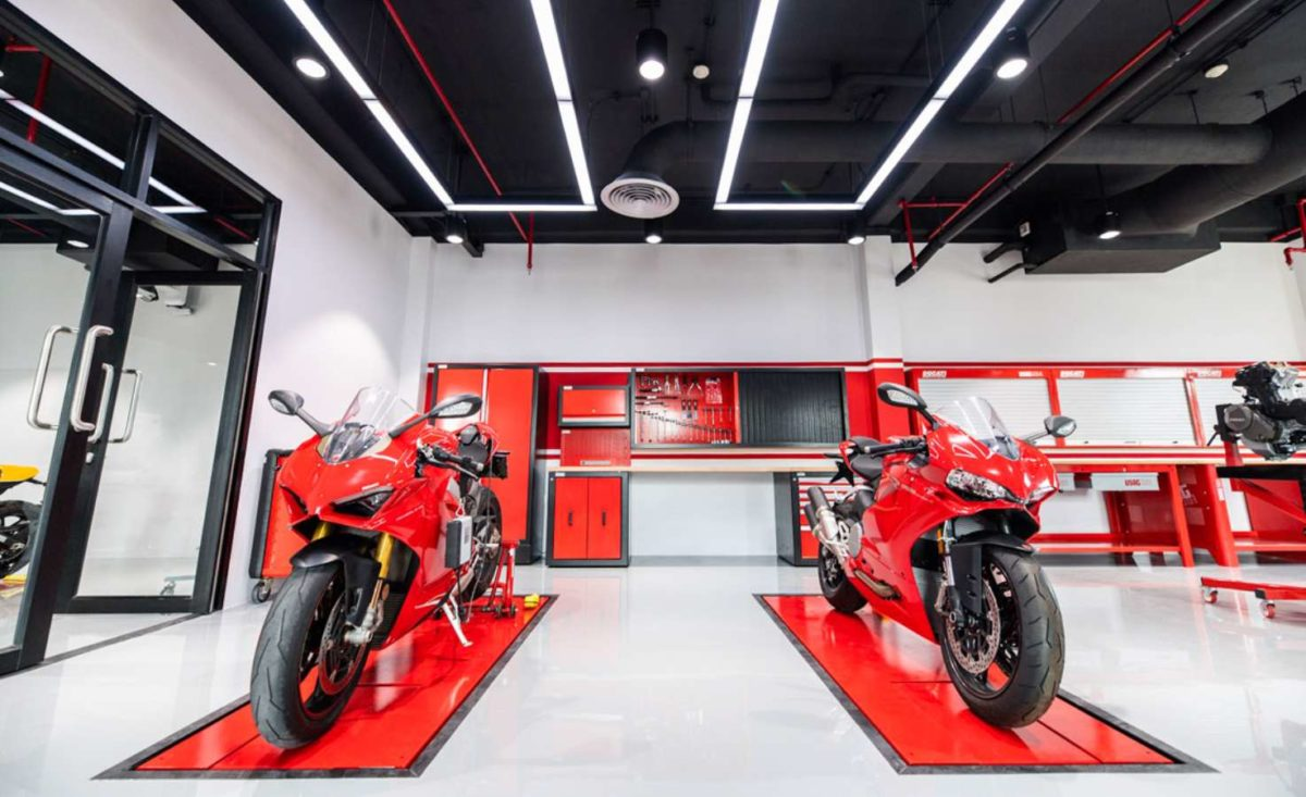 Ducati sets up training facility in Thailand ramps