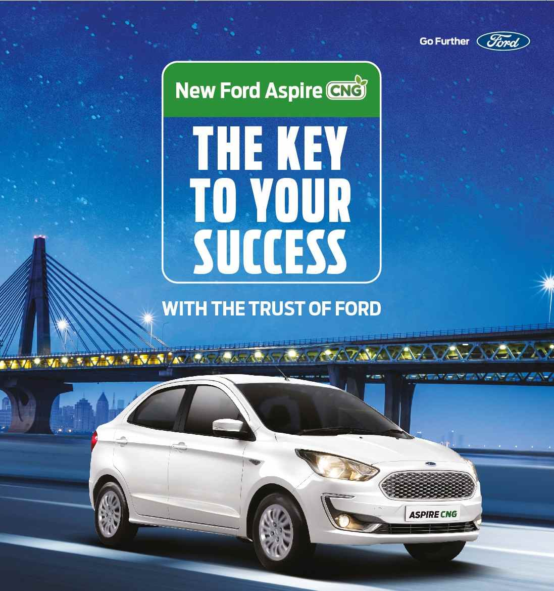 FORD ASPIRE CNG Launch