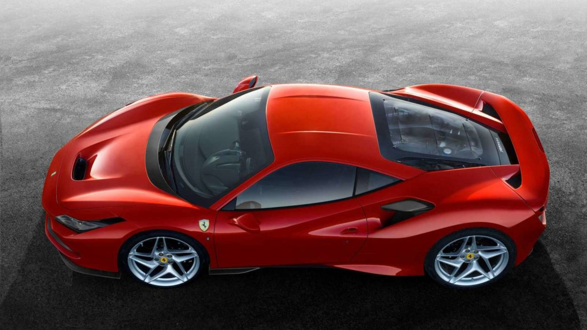 Ferrari F8 Tributo top