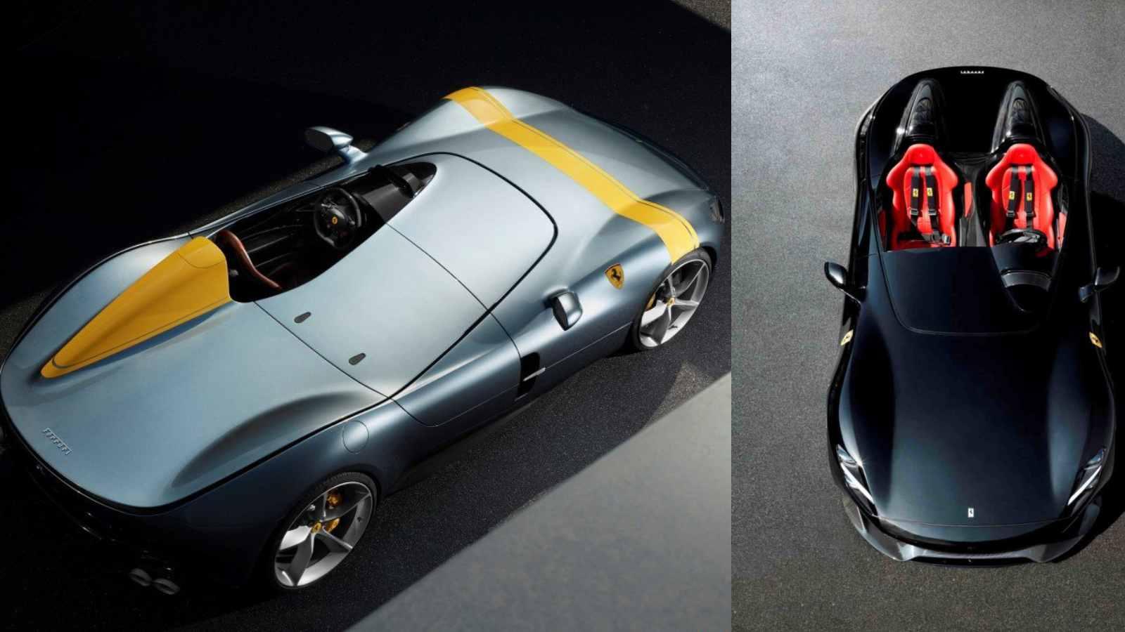 Video Ferrari Icona Monzas Announce The Return Of Timeless Design Motoroids
