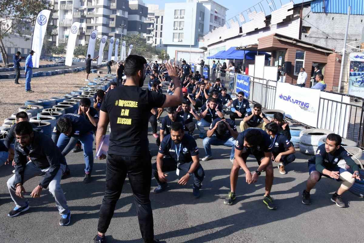 Fitness partner Multifit gives Ameo Cup 2019 Drivers' Selection participants fitness lessons (1)