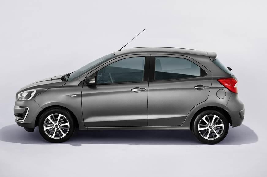 Ford Figo Facelift side