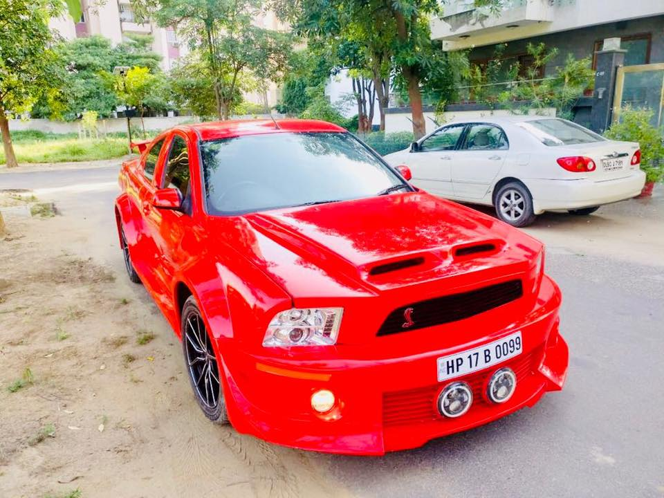Ford Mondeo converted to Mustang front quarter