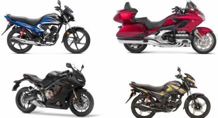 Honda Bikes on India