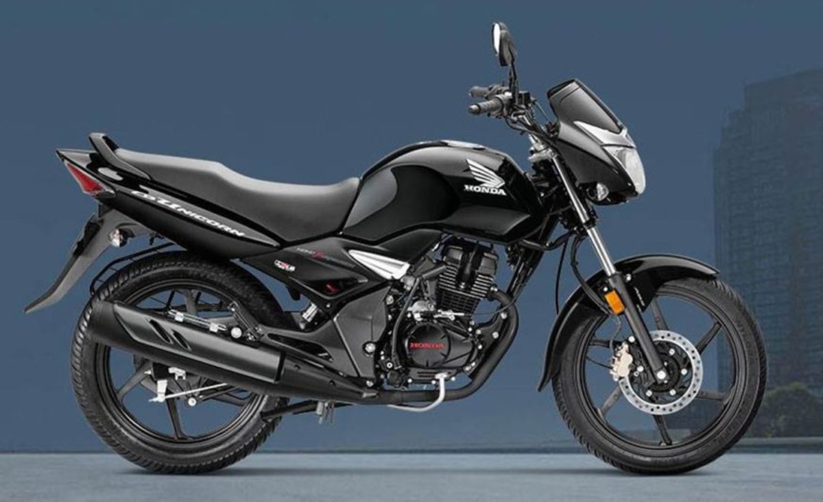 Honda CB Unicorn 150 ABS side