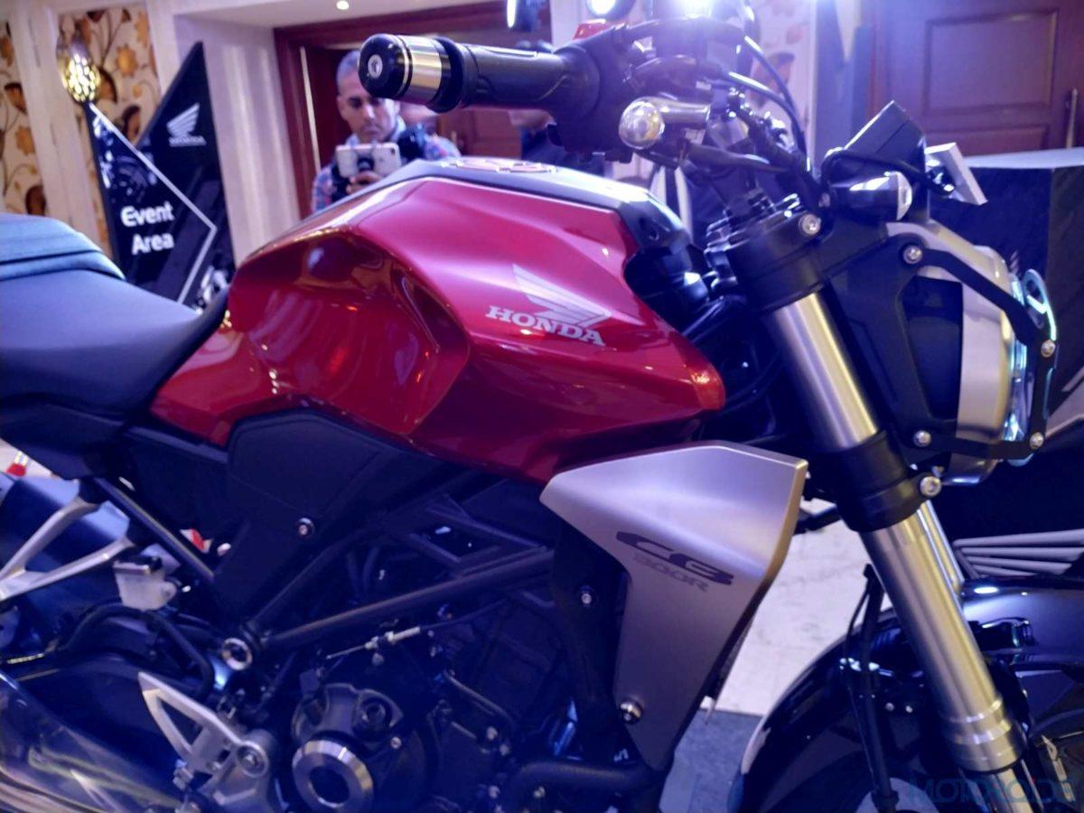 Honda CB300R India 10 litre fuel tank (6)